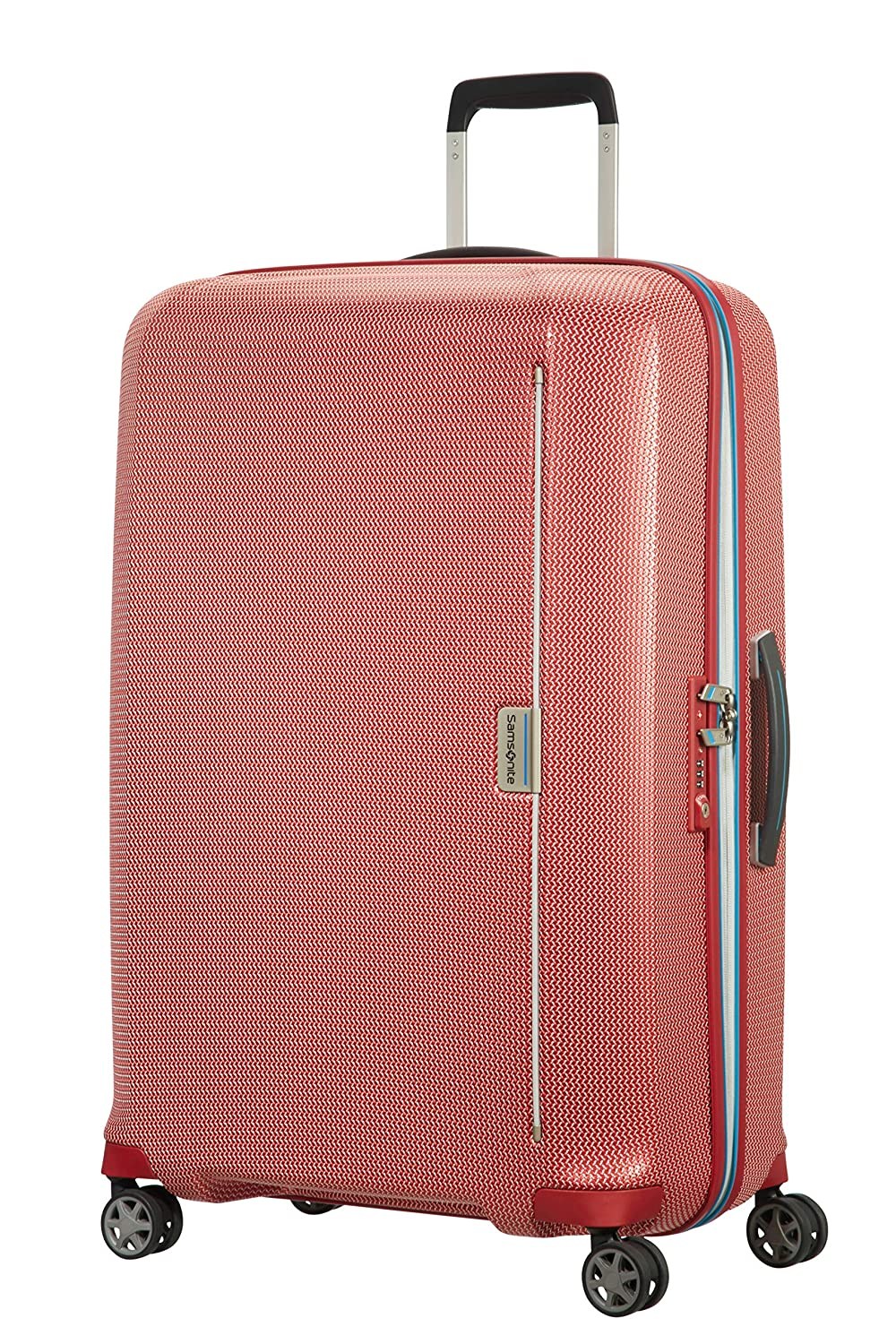 Samsonite Maleta, Red/Pacific Blue (Rojo) - 106747/7085: Amazon.es: Equipaje