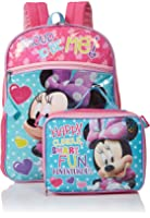 Disney Girls' Minnie Backpack with Lunch