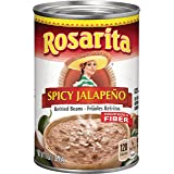 Rosarita Spicy Jalapeño Refried Beans, 16 oz