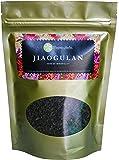 "Jiaogulan Tea (Gynostemma Pentaphyllum) by Majestic Herbs | Organic Best Quality Pure Loose Leaf ""Herb of Immortality"" Fair-Trade Longevity Antiaging Antioxidant Caffeine-Free Tea from Thailand (100g)"