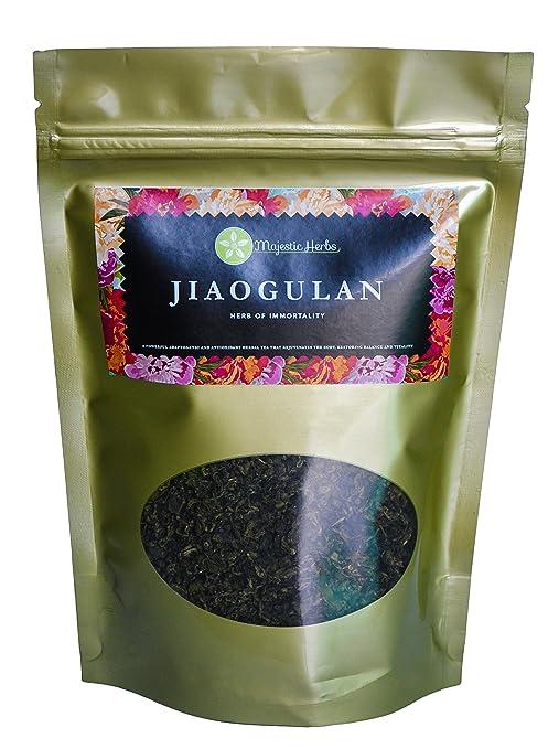 Jiaogulan Tea (Gynostemma Pentaphyllum) by Majestic Herbs