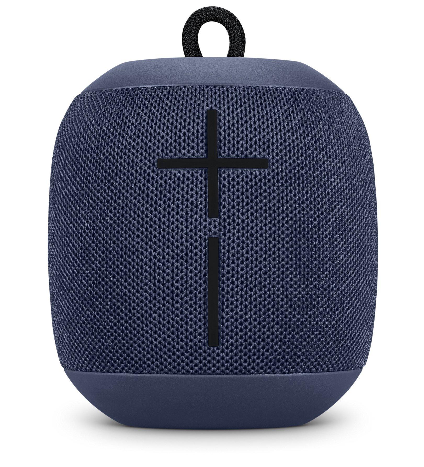 Ultimate Ears WONDERBOOM Waterproof Super Portable Bluetooth Speaker – IPX7 Waterproof – 10-hour Battery Life – Midnight Blue by Logitech (Image #1)