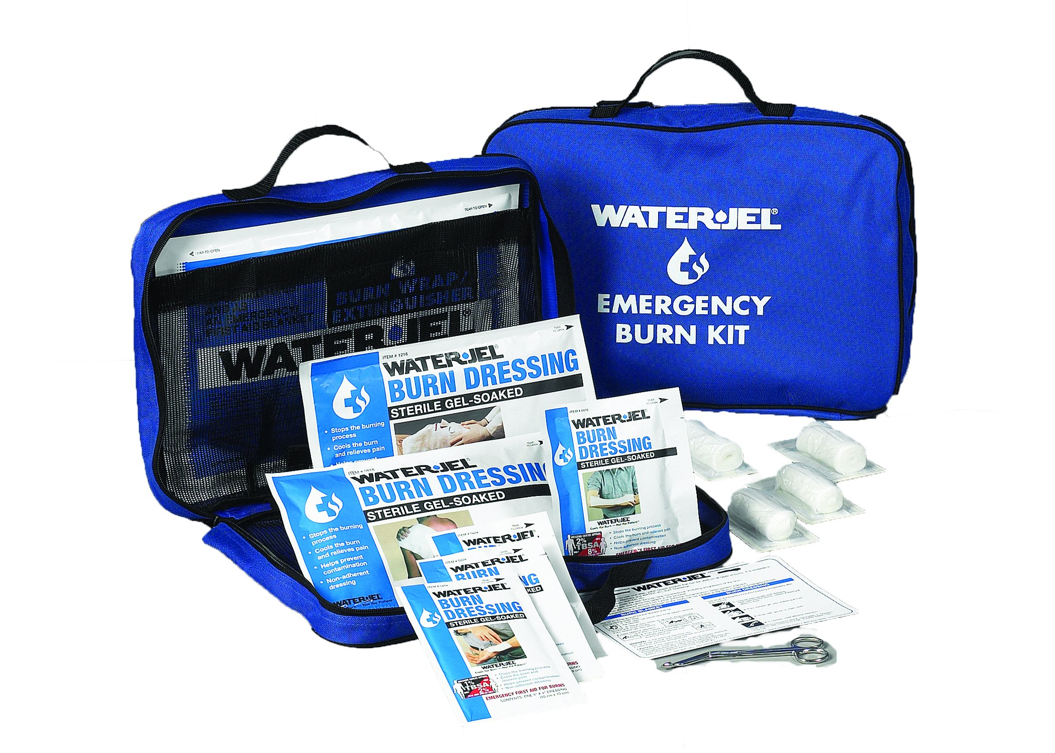Medique Products 86601 Water Jel Large Soft Sided Burn Kit, Filled