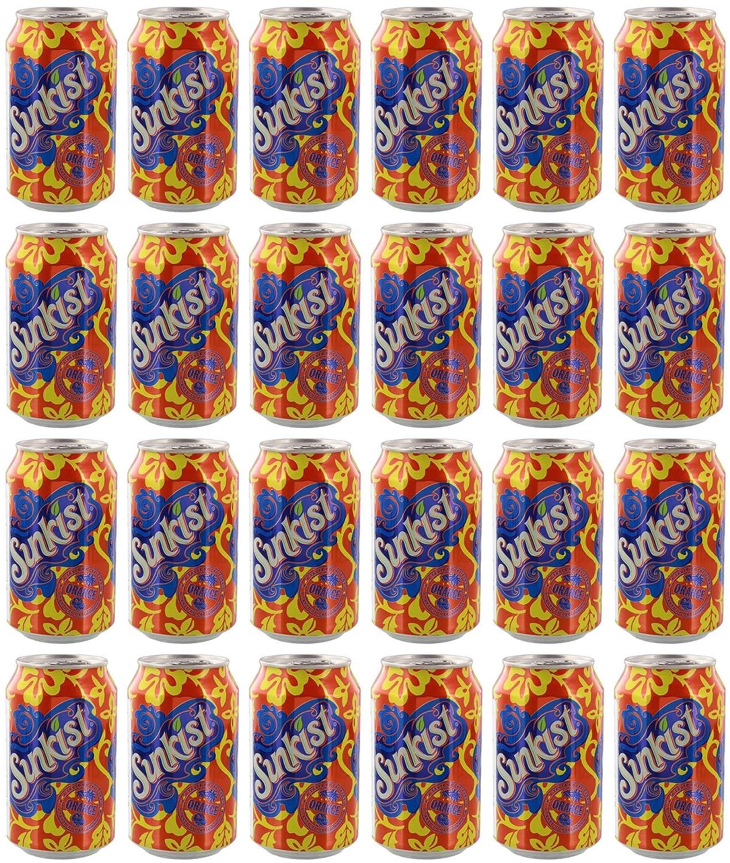 Sunkist Orange Soda, 12 Ounce (24 Cans)
