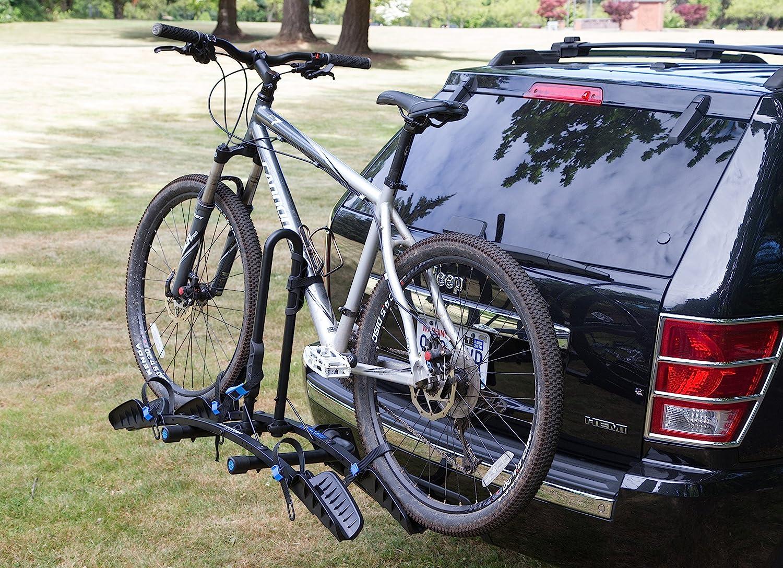 Heininger 2037 Advantage Sports Flat 2 Bike Platform Mounted Rack with Hitch Lock