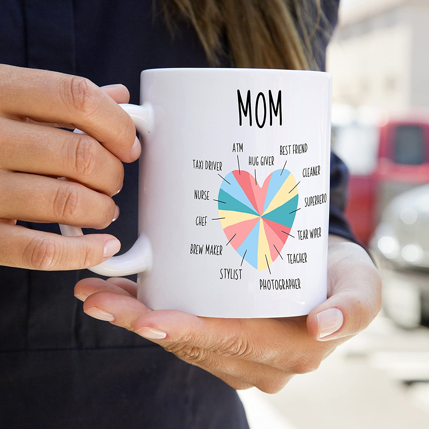 Amazon.com: Mom Coffee Mug, Funny Mom Gift - 11 OZ, Unique Birthday ...