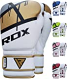 RDX Boxhandschuhe Ego Muay Thai Boxsack Training Sparring Kickboxen Sandsack Maya Hide Leder Boxing Gloves