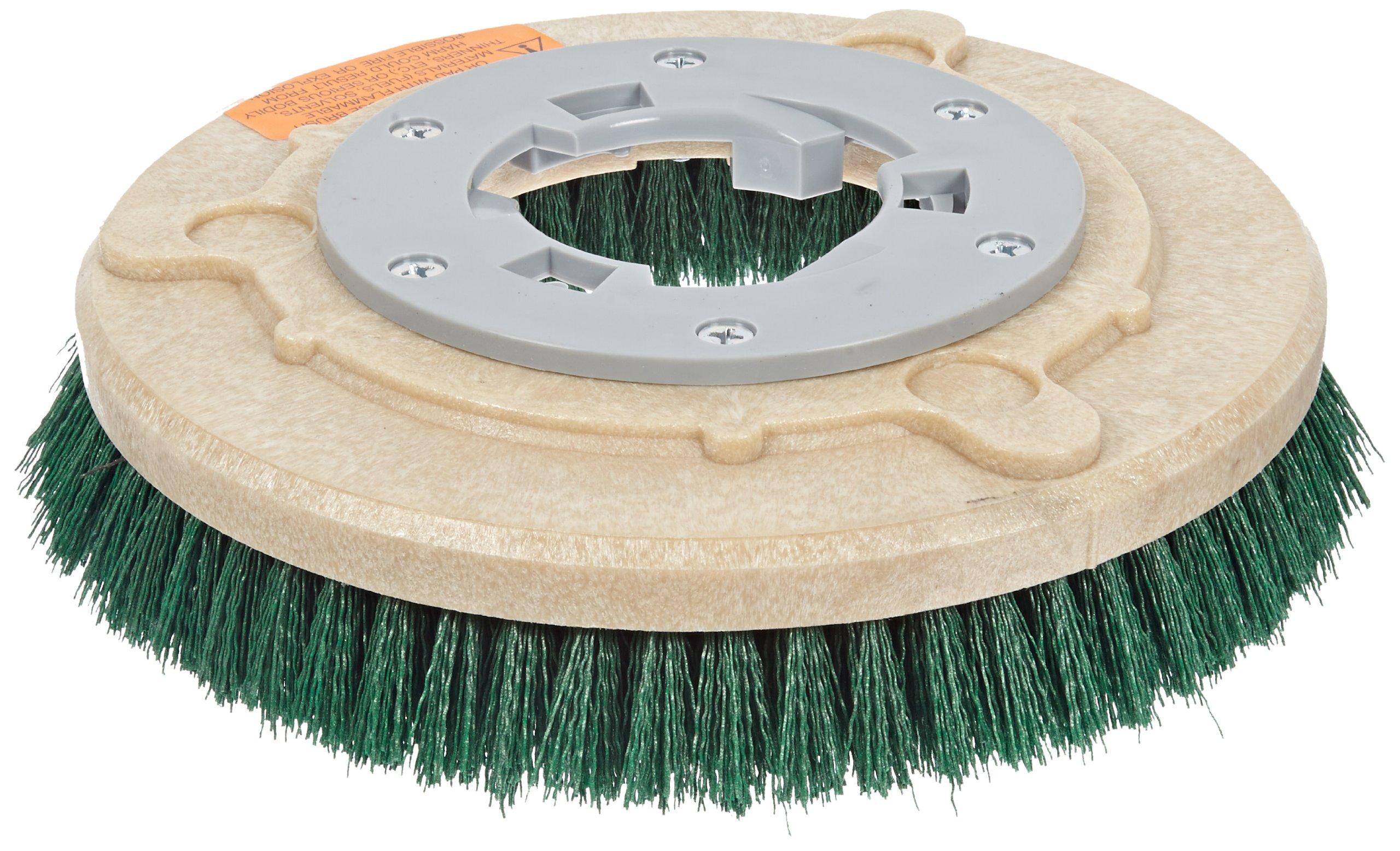 Qleeno 813011 Mal-Grit General Scrubbing Brush with Clutch Plate