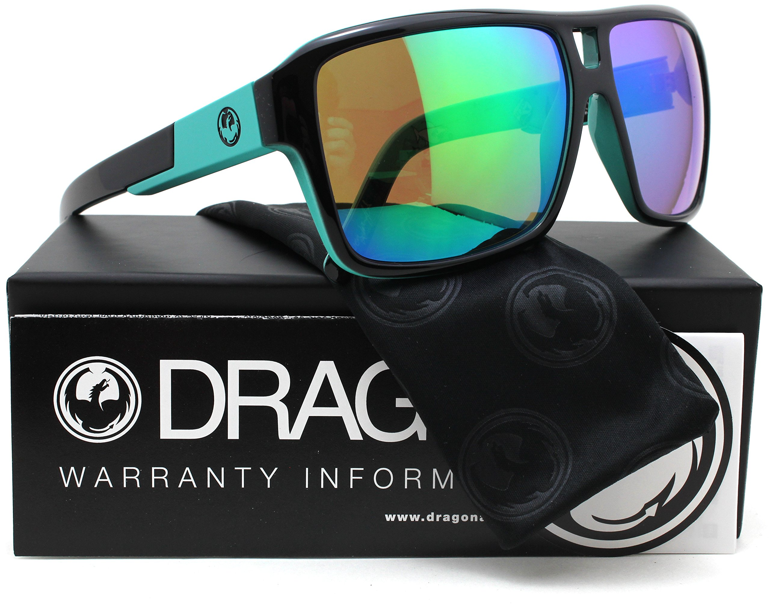 Dragon The Jam Sunglasses Owen Wright w/Jet Green Ion (032) 69mm Authentic