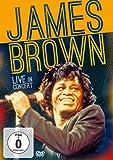 James Brown - Live in Concert (+ Audio-CD) [2 DVDs]