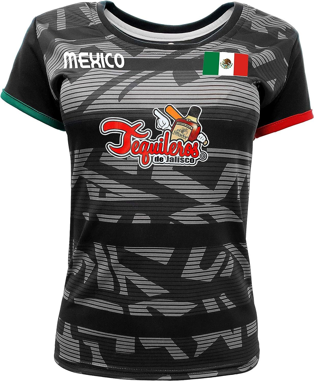Women/'s Tequileros de Jalisco Jersey 100/% Polyester