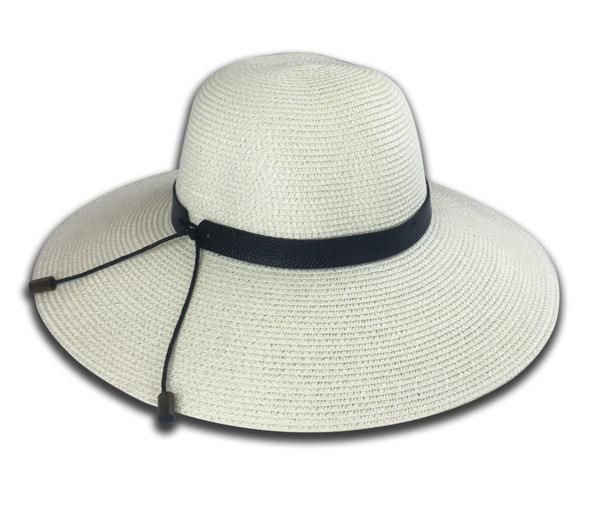 5c9816e60 Women's Packable Straw Hat, Wide Brim with Lanyard, Maximum Sun ...