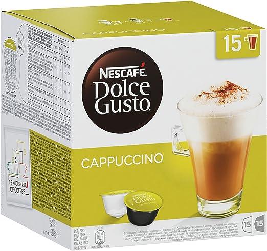 Nescafé Dolce Gusto 30 caja capuchino, Café, Cápsulas, 30 Cápsulas ...