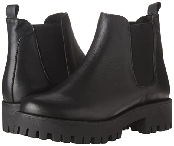 e4d89f39a1f Steve Madden Womens Bleeker Leather Round Toe Mid-Calf Fashion Boots