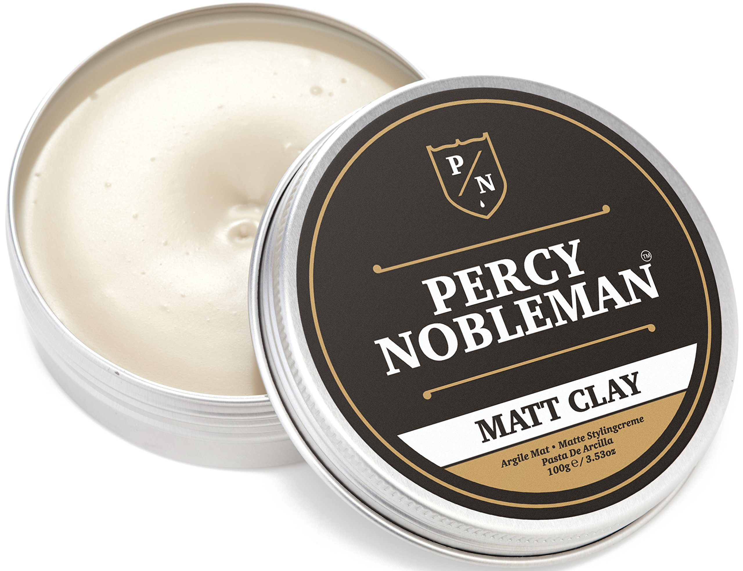 Matte Clay By Percy Nobleman, A Hair Clay For Men, 3.38oz by Percy Nobleman (Image #2)