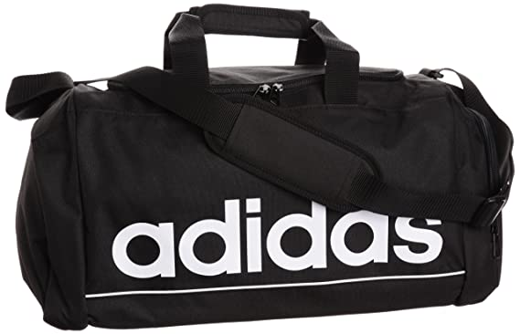3143a78e4a42 Image Unavailable. Image not available for. Color  Adidas Linear ESS TBS Gym  Duffle Travel Bag