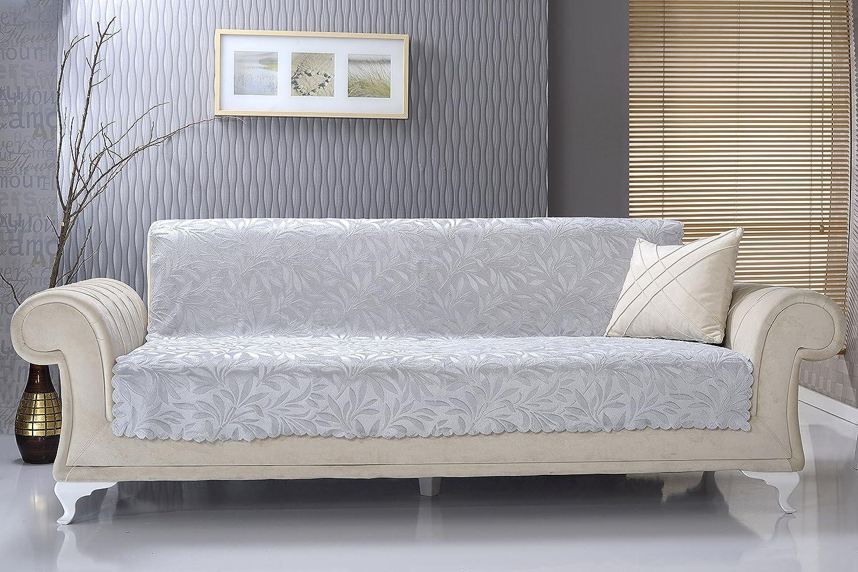Chiara Rose Anti-Slip Armless Sofa Shield Futon Couch Pet Cover Furniture Acacia