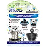 TubShroom Ultra Revolutionary Bath Tub Drain Protector Hair Catcher/Strainer/Snare Stainless Steel