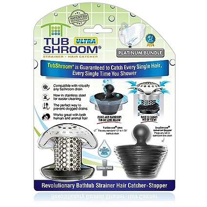 TubShroom Ultra Revolucionario Protector de Drenaje para Tina de baño 64e9695777ff