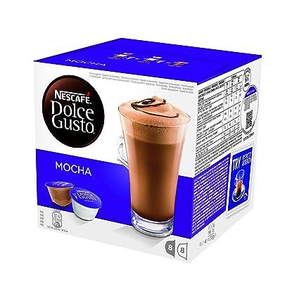 NESCAFÉ Dolce Gusto Café Mocha | Pack de 16 Cápsulas