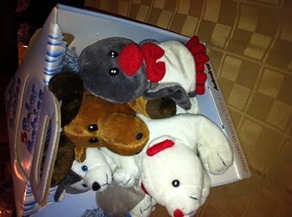 Amazon Com Macy S Polar Babies Plush Set Toys Games