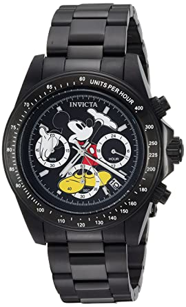 6595e79d065 Image Unavailable. Image not available for. Color  Invicta Men s  Disney  Limited Edition  Quartz Stainless Steel ...