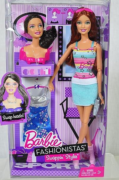 Amazon.es: Barbie v4092 – Muñeca – Caja Mix & Styles – Muñeca ...