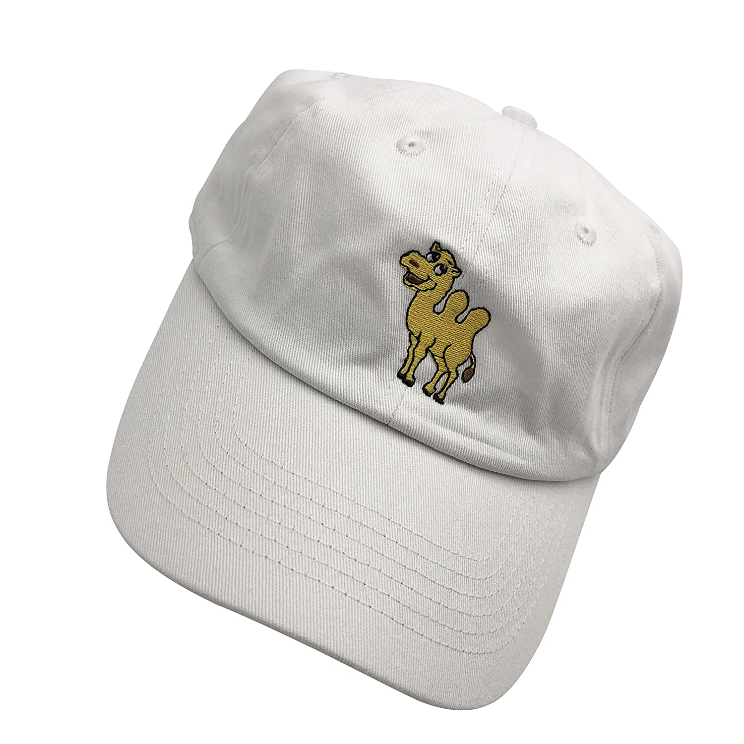 HC Camel Dad Hats Baseball Cap Embroidered Adjustable Snapback Cotton  Unisex White at Amazon Women s Clothing store  35719971c44