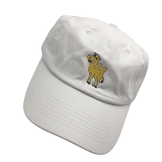 HC Camel Dad Hats Baseball Cap Embroidered Adjustable Snapback Cotton  Unisex White 7f70866f039
