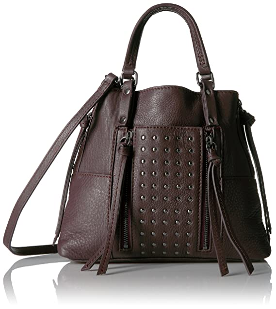 Kooba Handbags Mini Studded Everette Crossbody, Dark Berry  Amazon ... 00f733456f