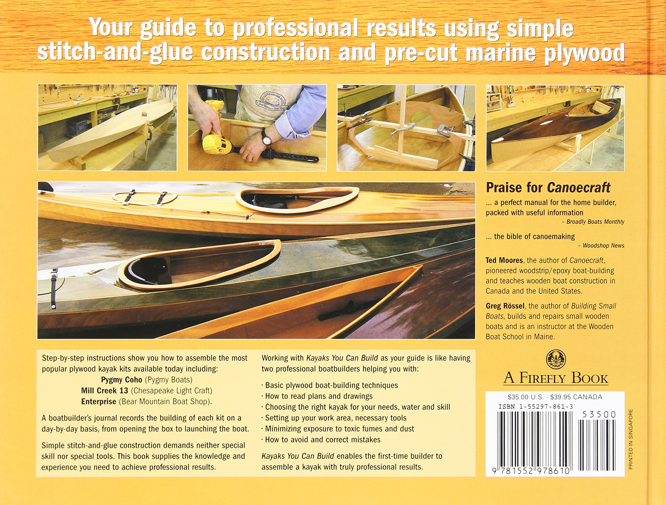 Kayaks you can build an illustrated guide to plywood construction kayaks you can build an illustrated guide to plywood construction ted moores greg rossel 9781552978610 amazon books fandeluxe Image collections