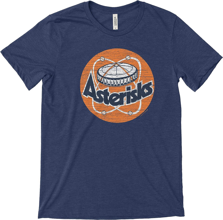 Smack Apparel Houston Asterisks Sm-5X Bella Heather T-Shirt Anti-Cheaters