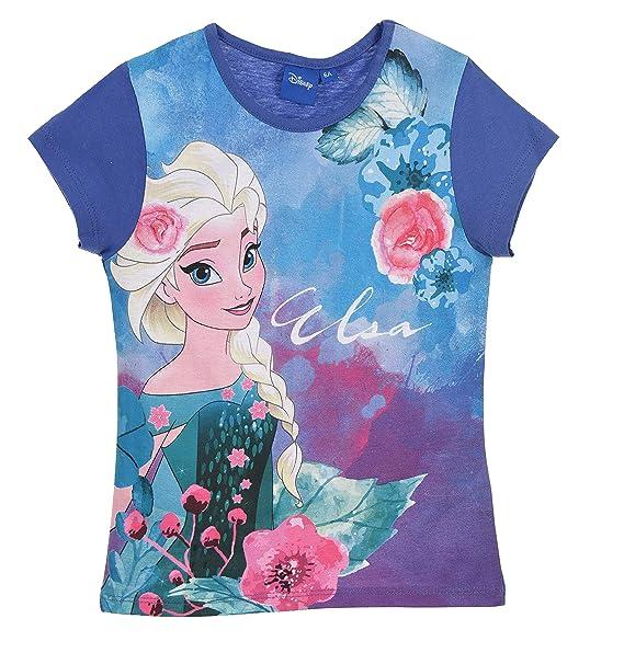 Disney The Ice Queen Frozen Elsa Anna Long Sleeve T-Shirt//Tunic