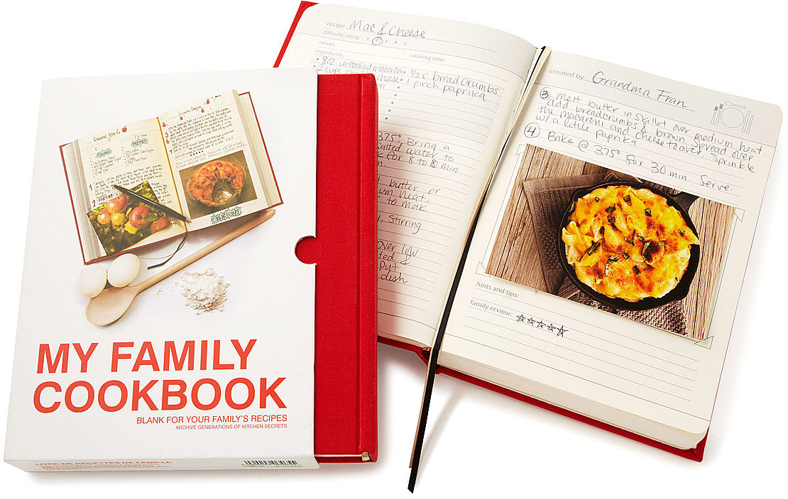 My Family Cookbook | My Family Cookbook | UncommonGoods