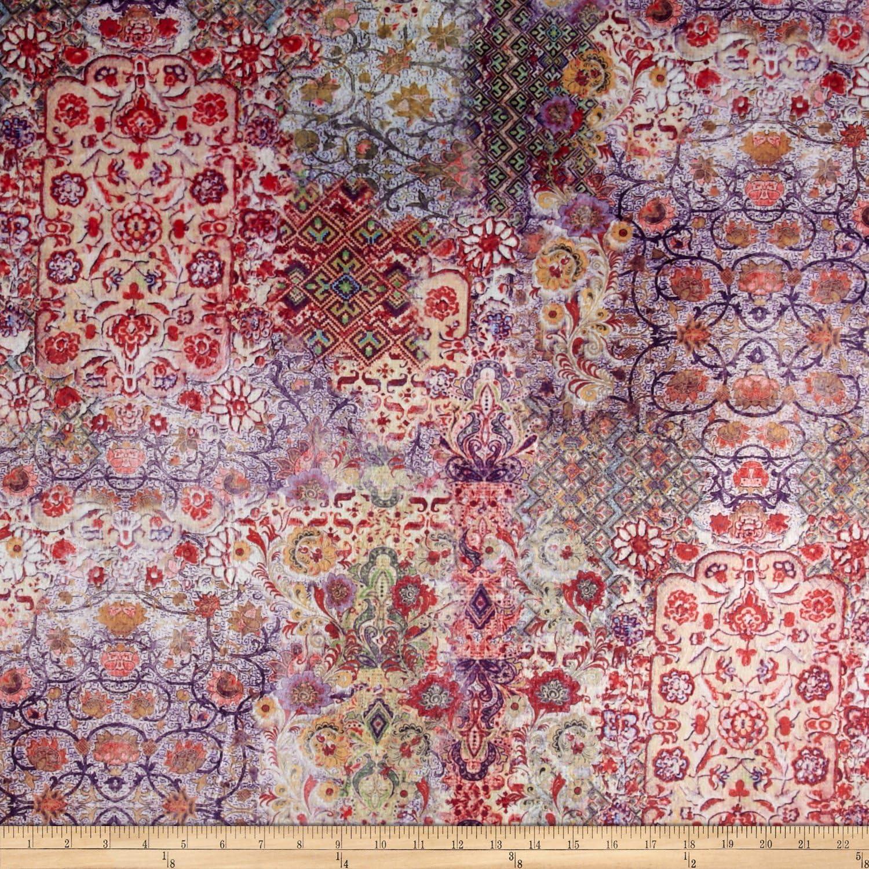 Yard Fabric Minky Mystik Red//Wine EZ Fabrics E.Z