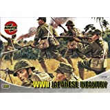 Airfix A01718 WWII Japanese Infantry 1:72 Scale Series 1 Plastic Figures