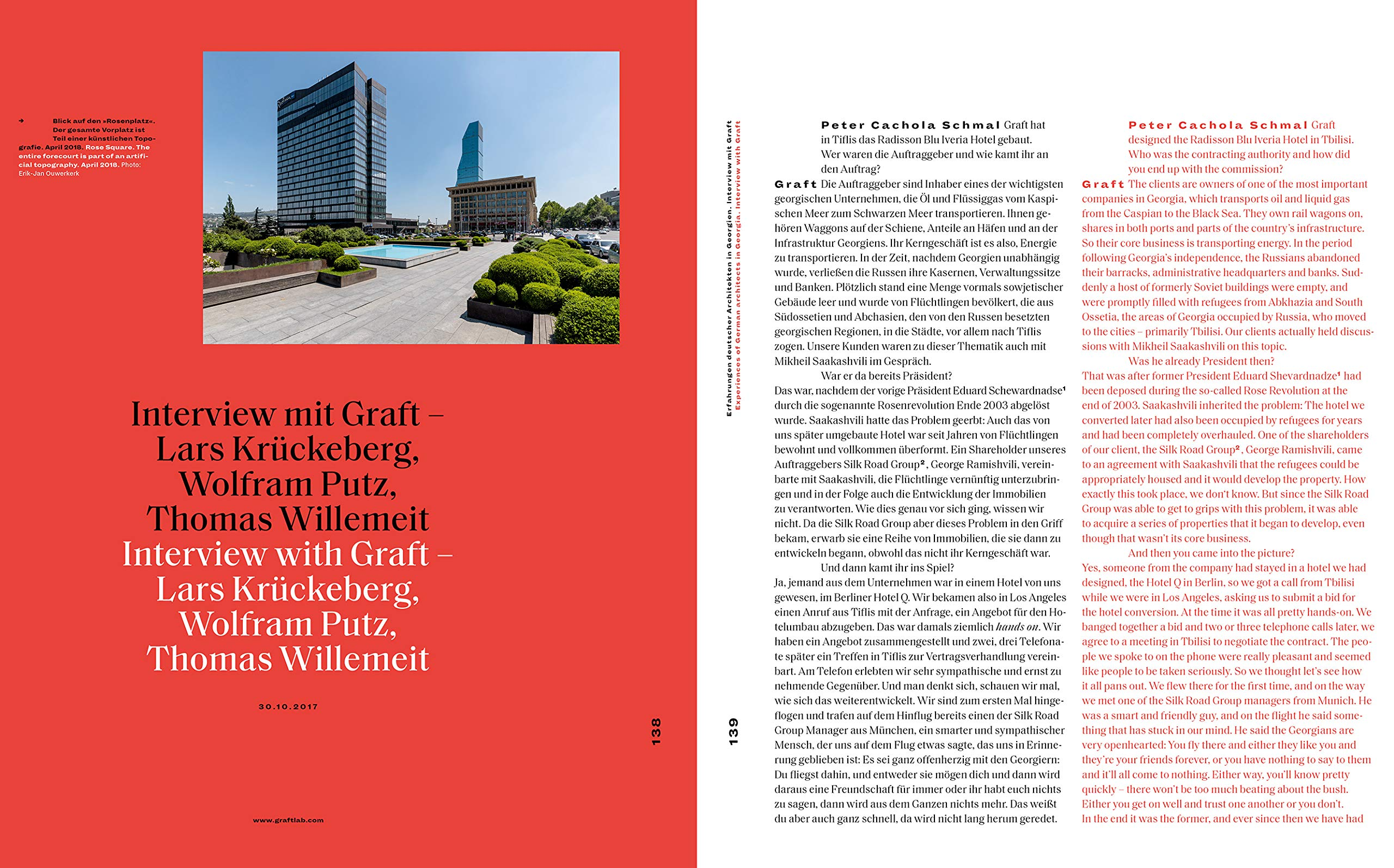 Hybrid Tbilisi Betrachtungen Zur Architektur In Georgien