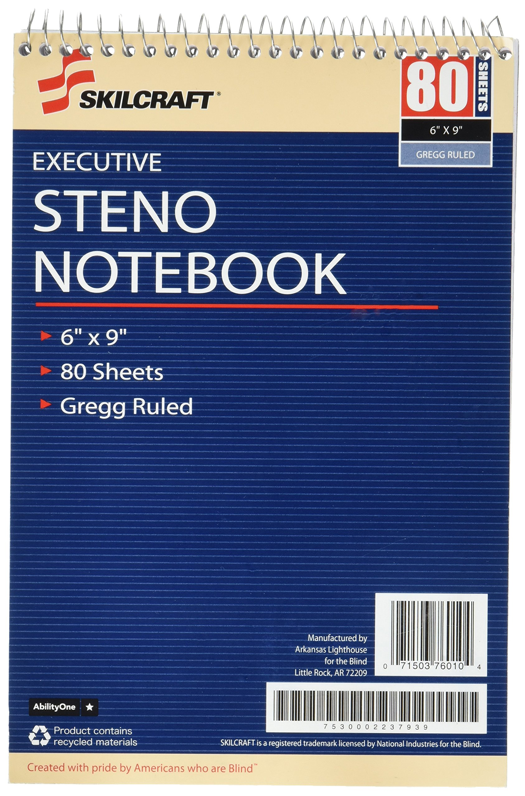 SKILCRAFT Executive Steno Notebook