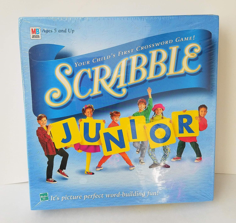 Scrabble Junior: Your Childs First Crossword Game! (1999 Vintage) by Scrabble: Amazon.es: Juguetes y juegos