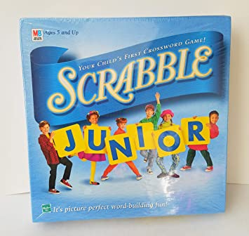 Scrabble Junior: Your Childs First Crossword Game! (1999 Vintage) by Scrabble: Amazon.es: Juguetes y juegos