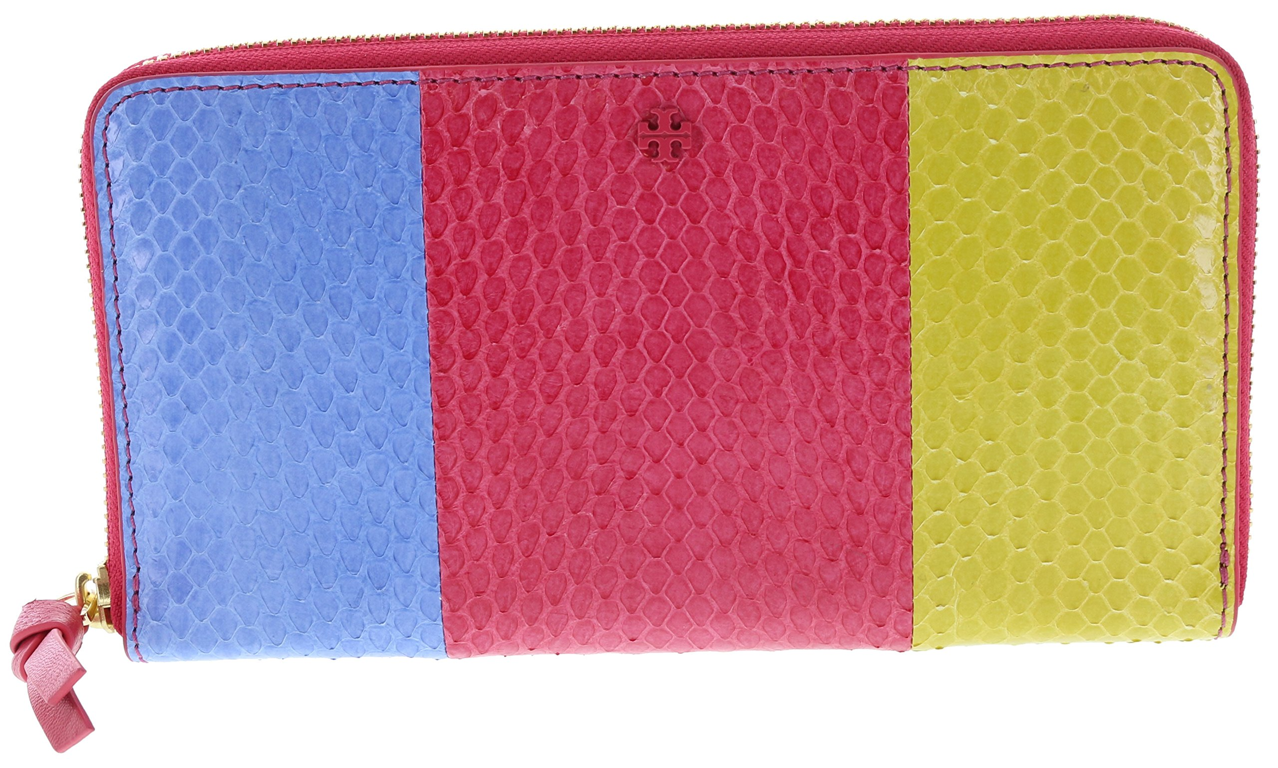 Tory Burch Multi Snake Zip Leather Continental Wallet, Style No. 30837 (Multi)