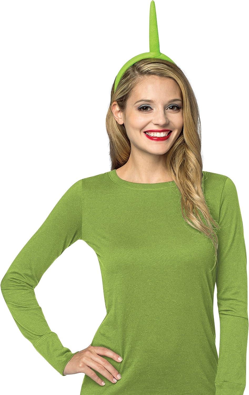 TV Telly Tubbies Shaped Felt Headband Green Red Yellow