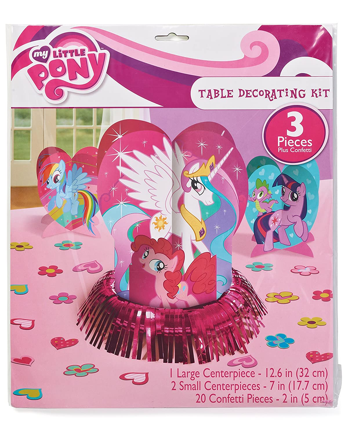 285513 Party Accessory Amscan Table Decorating Kit 6 Kits TradeMart Inc My Little Pony Friendship Collection