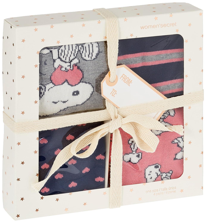 Womensecret 4482484, Calcetines para Mujer, Varios colores, One Size (Tamaño del Fabricante:U): Amazon.es: Ropa y accesorios
