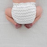 SmartNappy Cotton Muslin by Amazing Baby, NextGen Hybrid Cloth Diaper Cover + 1 Bi-fold Reusable Insert + 1 Reusable…
