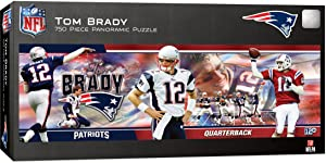 MasterPieces NFL New England Patriots Tom Brady Puzzle (750 Piece)