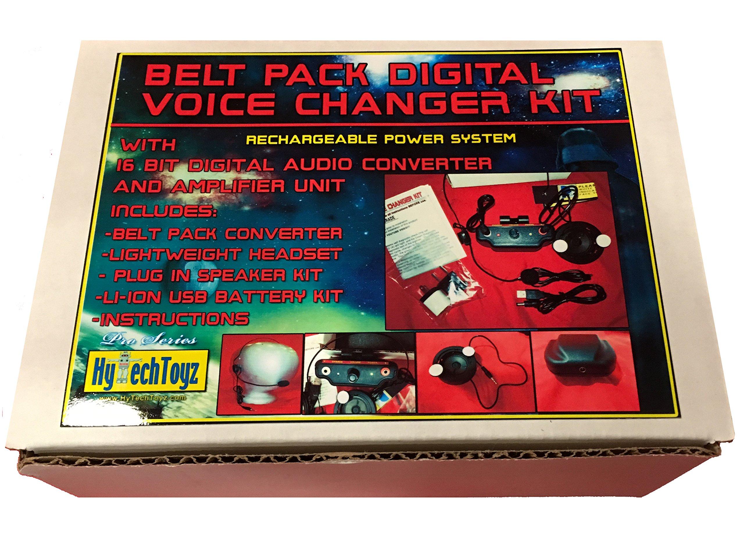 PRO SERIES VOICE CHANGER SYSTEM - SOUND LIKE DARTH VADER