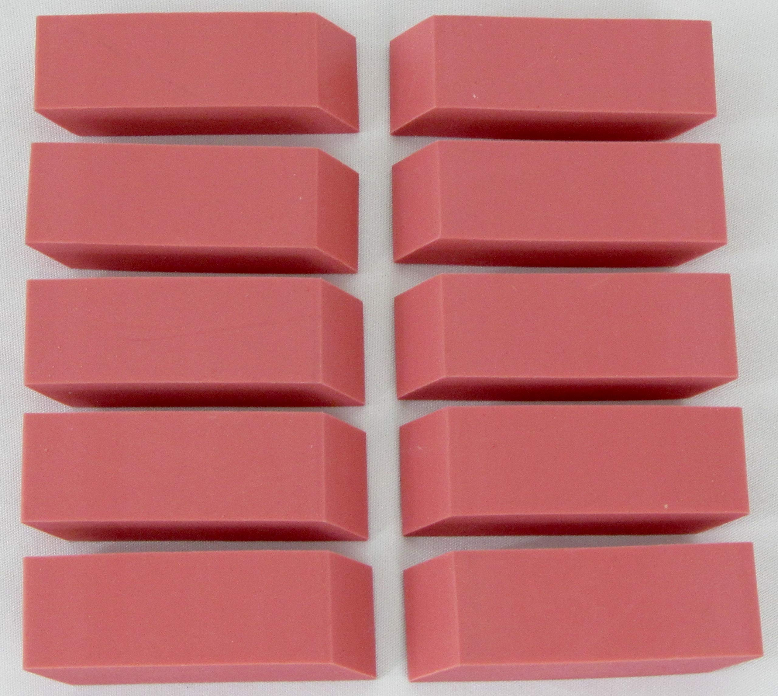Pink Erasers Bulk pack, Case Pack of 500, Ideal for Bulk Buyers