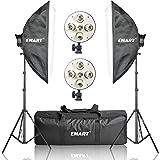 "Emart 20"" x 28"" Softbox Photography Light Kit, 2250 Watt Photo Video Equipment Soft Studio Continuous Lighting Kit"