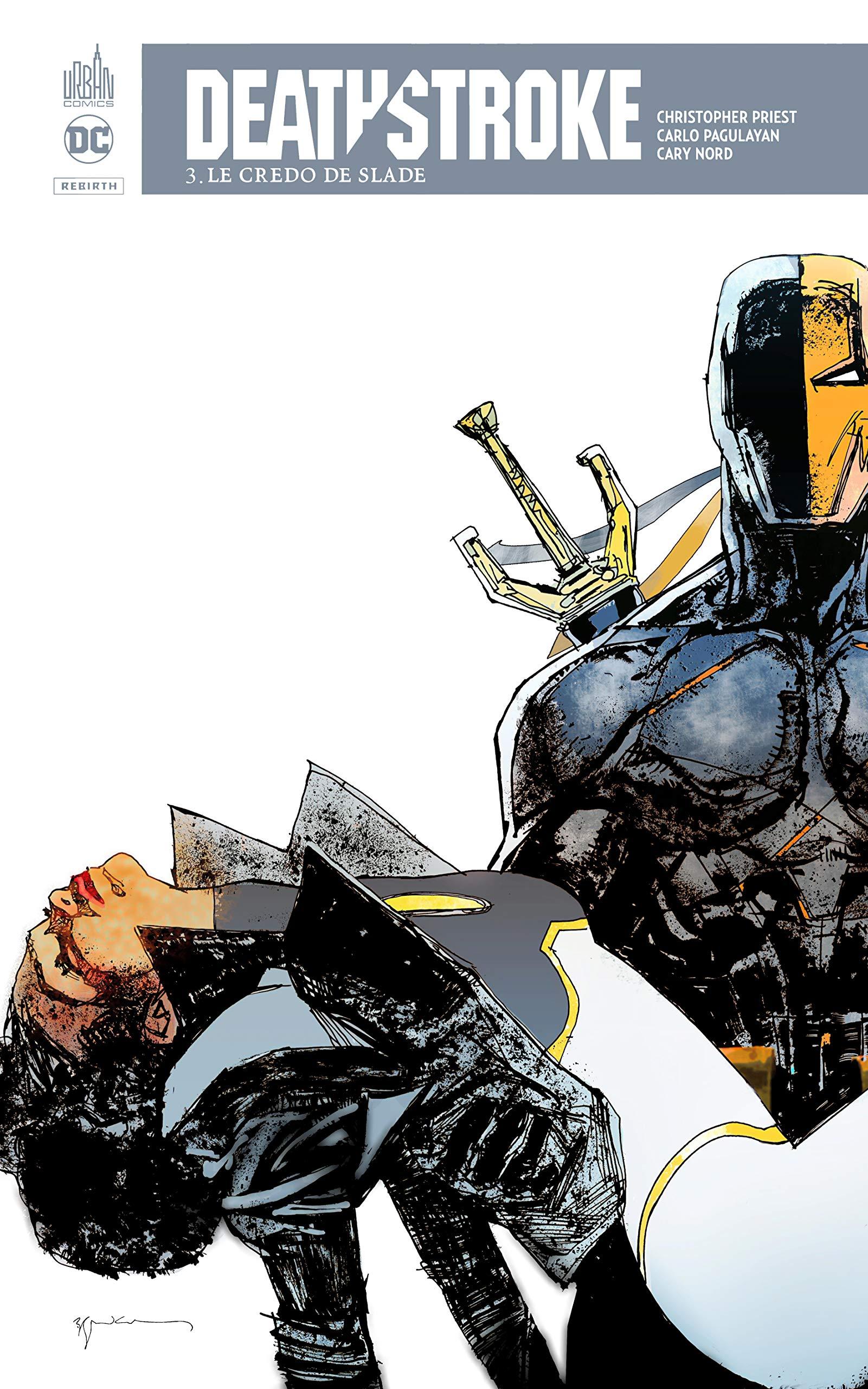 deathstroke rebirth top comics